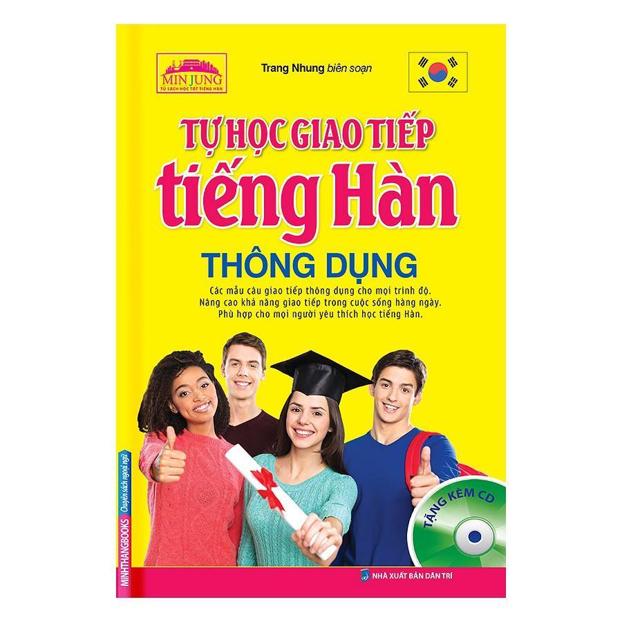 Mua Tự Học Giao Tiếp Tiếng Hàn  Dụng (Kèm CD)