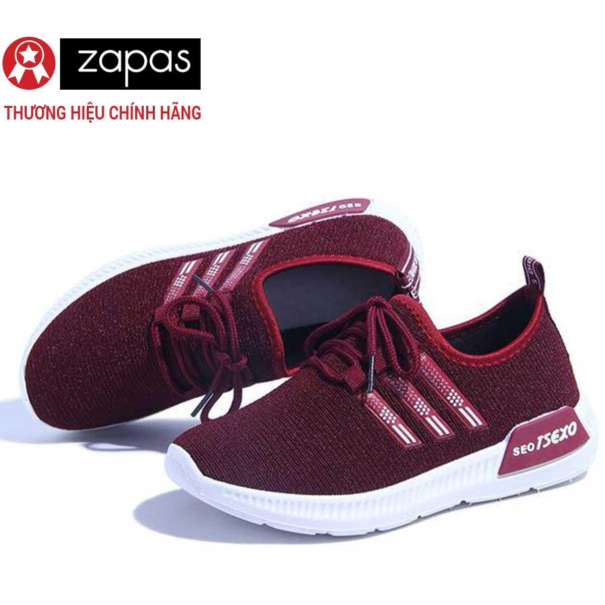 Hình ảnh Giày Sneaker Nữ Thời Trang Zapas - GN036 (Đen)