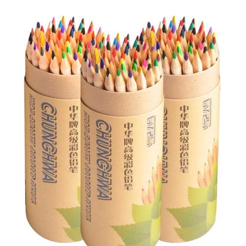 Sketsa Pensil Warna-warni Sekolah Dasar Berminyak Warna-warni Pimpinan Lukisan Orang Dewasa Anak