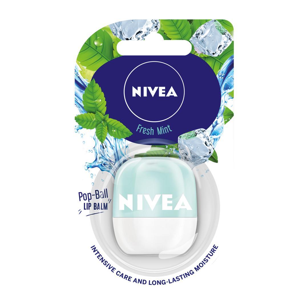Hình ảnh Son dưỡng ẩm NIVEA LIP POP-BALL FRESH MINT 7G