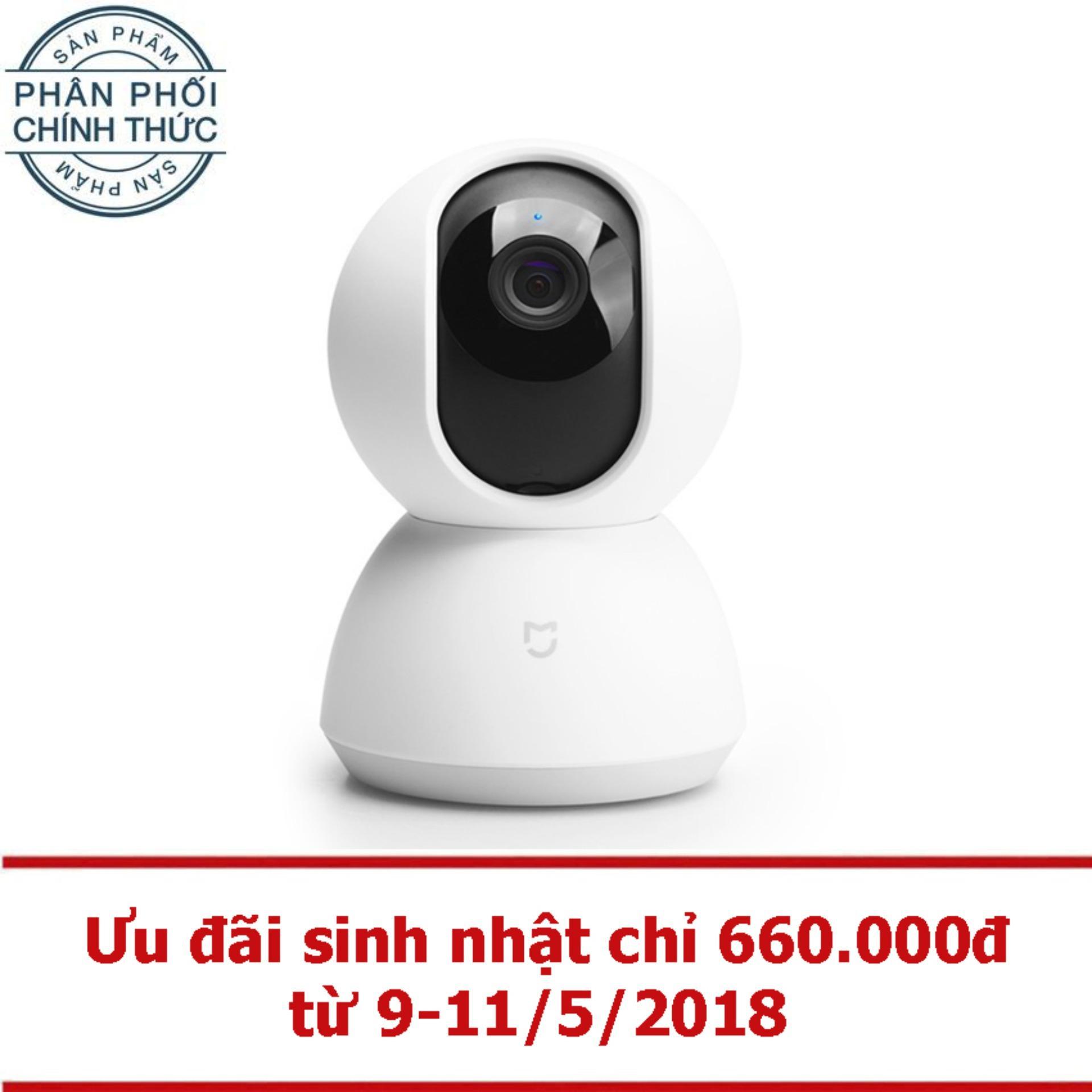 Giá Bán Rẻ Nhất Camera Ip Xiaomi Home 360 Hd 2017 Ptz Trắng Hang Phan Phối Chinh Thức