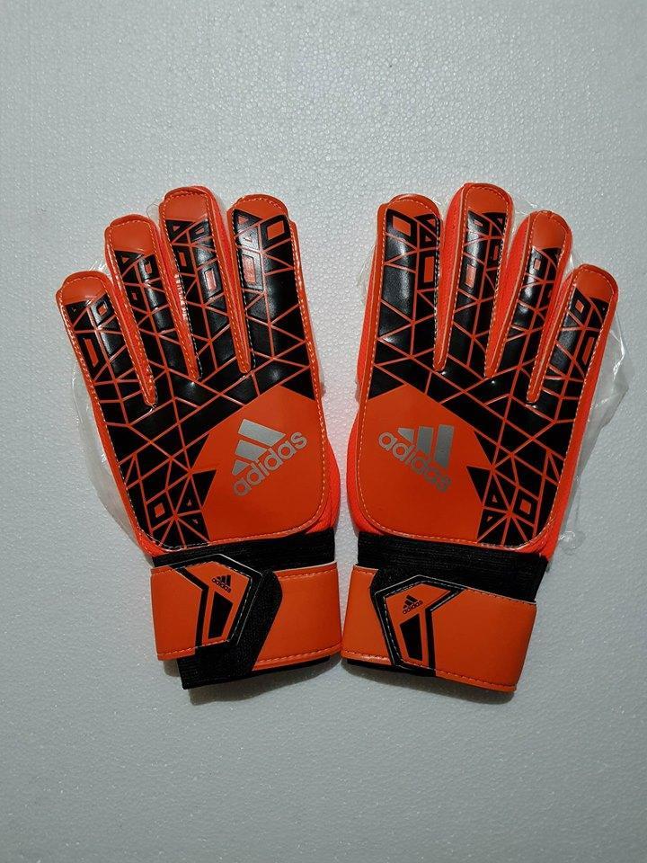 Hình ảnh găng tay thủ môn ADIDAT ( người lớn ) hàng chất lượng cao có sương bảo vệ ngón tay chon màu ngẫu nhiên