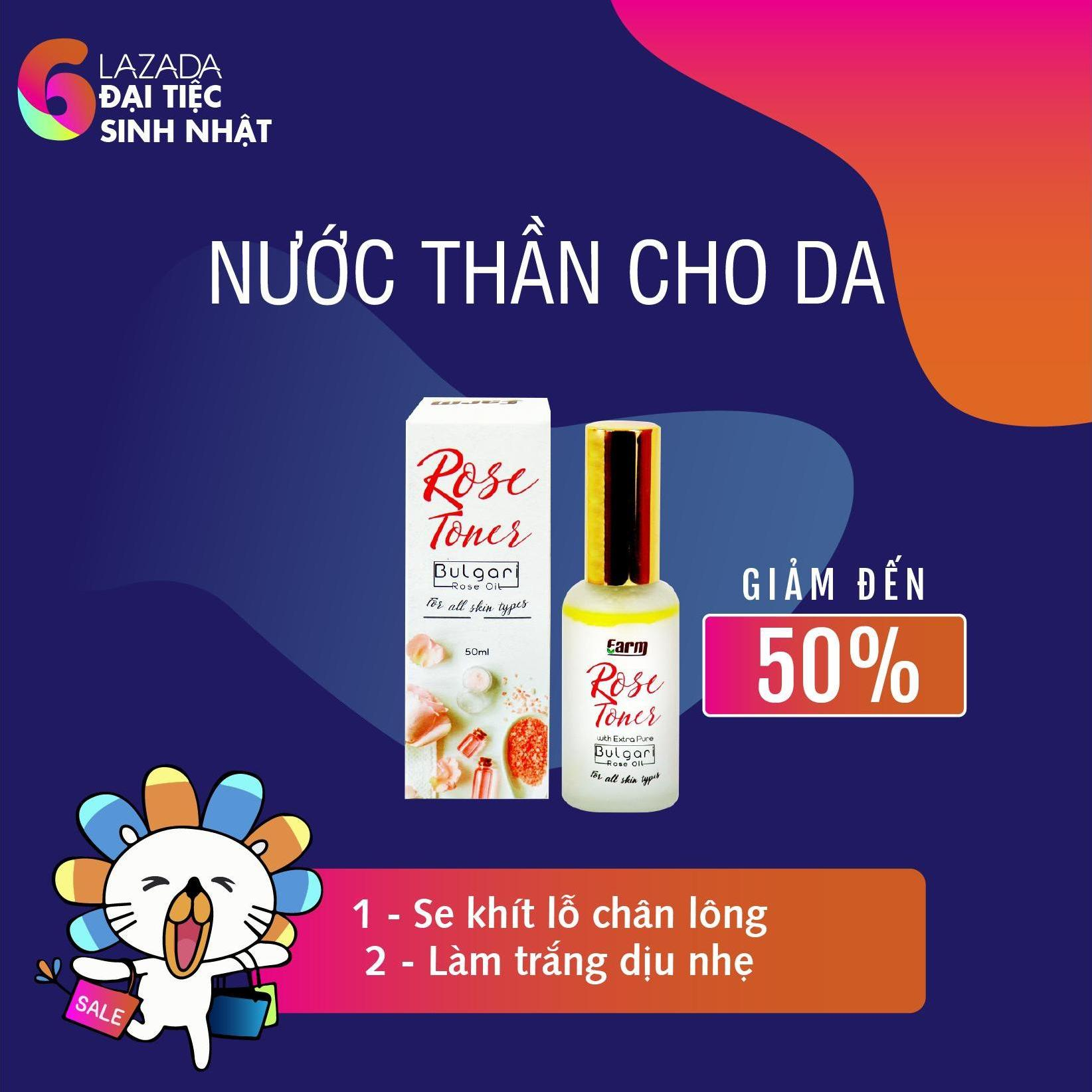 Giá Bán Nước Hoa Hồng Farm Trong Hồ Chí Minh