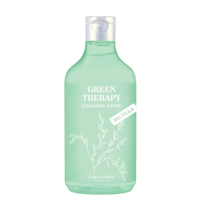 Nước Tẩy Trang Micellar Chou Chou Green Therapy Cleansing Water 300ml