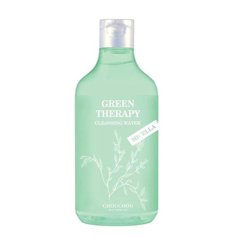 Nước Tẩy Trang Micellar Chou Chou Green Therapy Cleansing Water 300ml nhập khẩu