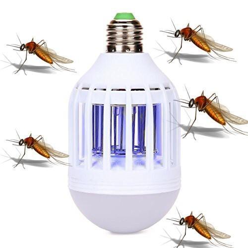 Hình ảnh Bóng Đèn LED bắt muỗi hiệu quả cao (Mẫu 2017)