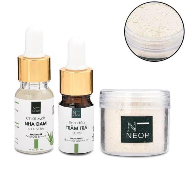 Set 3 sản phẩm Bùn Khoáng Thiên Nhiên NEOP (PHÁP) Vừa Tẩy Tế Bào Chất Cho Da Mặt Vừa Làm Mặt Nạ Dưỡng Trắng Mịn Da giá rẻ