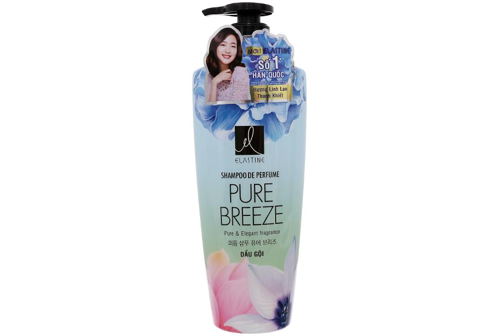 Hình ảnh Dầu gội dưỡng tóc hương nước hoa Double Rich Elastine Pure Breeze 600ml