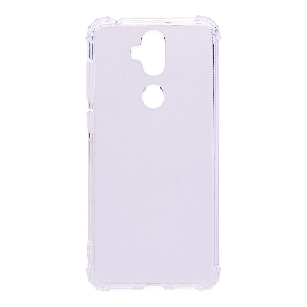 Ueknt untuk ASUS ZenFone 5 Lite ZC600KL 6.0 Inch Case Gel Transparan Ultra Tipis Lembut TPU Sarung Pelindung Anti Shock