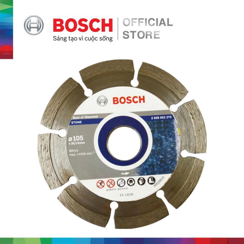 Đĩa cắt kim cương Bosch 105x20/16mm (gạch)