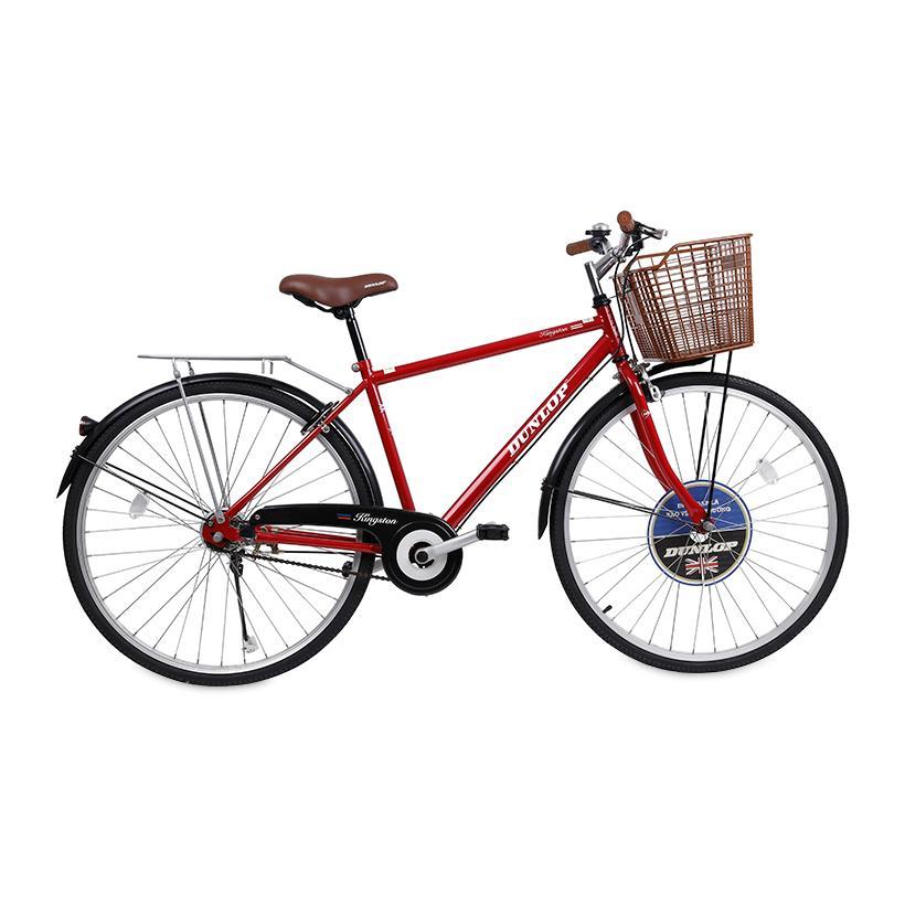 Xe đạp thời trang nam Dunlop CTB001- 1 124 x 20 x 76 cm (Đỏ)