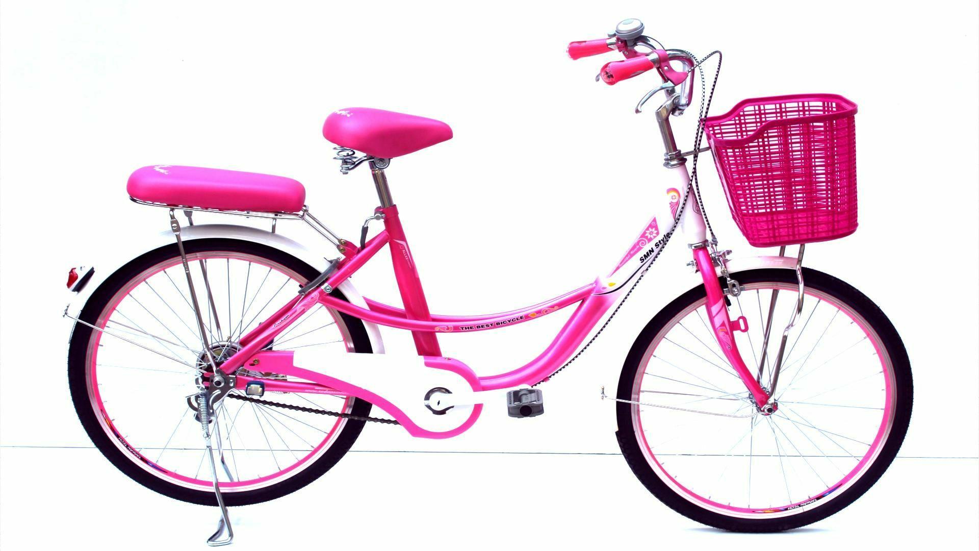 Xe đạp thời trang SMN CL 24-02 ( màu hồng )
