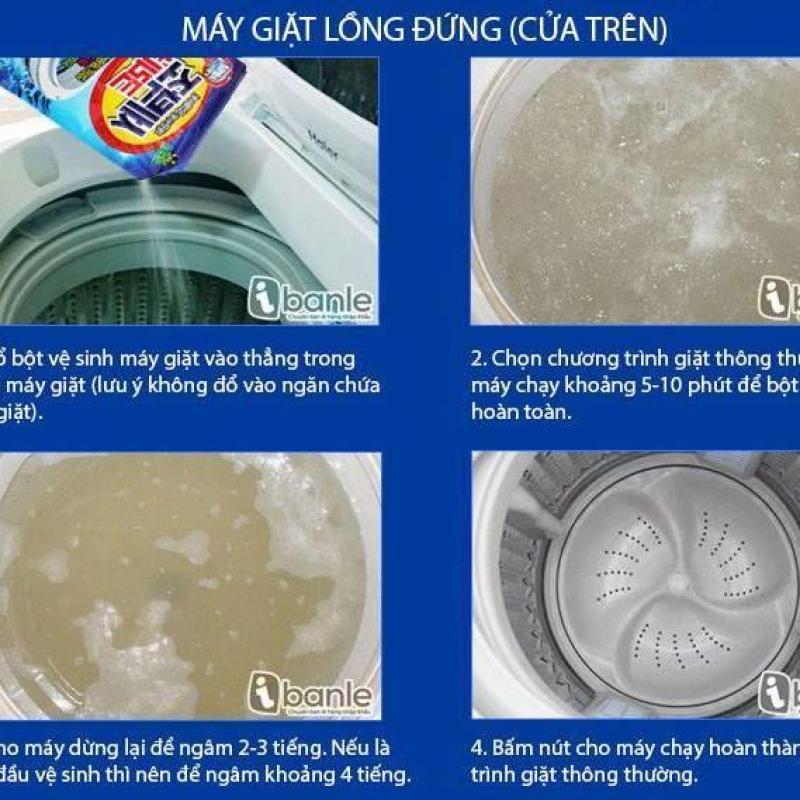 Túi bột tẩy vệ sinh lồng máy giặt Sandokkaebi - Hàn Quốc
