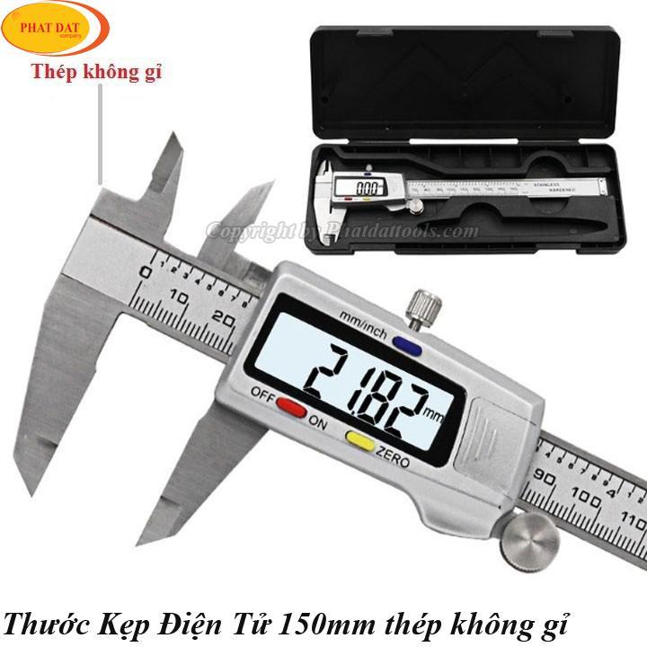 Thước kẹp điện tử 150mm-Thước kẹp điện tử-Sai số 0.01mm