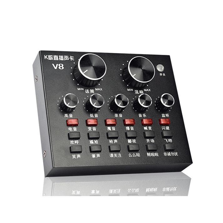 Bán Soundcard V8 Autotune Giả Giọng Karaoke Online Livestream