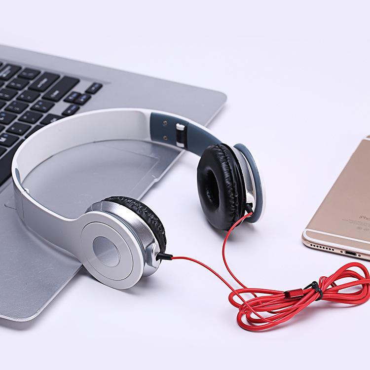 Set Komputer Tipe Pakai Jenis Telepon Seluler Headphone K Lagu Kontrol Garis CF Listrik Jing Daftar Permainan Bore telinga Gandum untuk Mengambil Kata-kata Tabung Berat Bas-Internasional