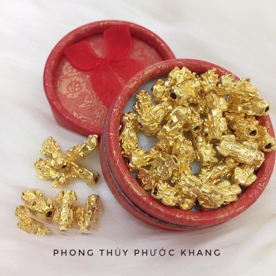 Hình ảnh Tỳ hưu vàng 24K nguyên chất size 1,5 cm