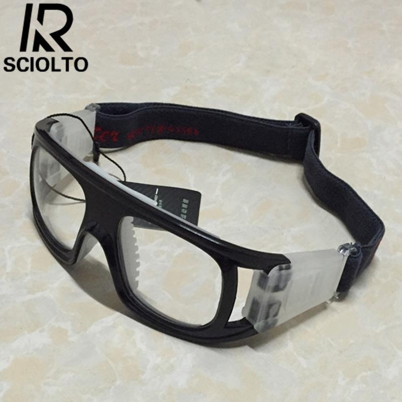 Hình ảnh SCIOLTO SPORTS Portable Sports Explosion Proof Glasses Protective Basketball Soccer Goggles - intl