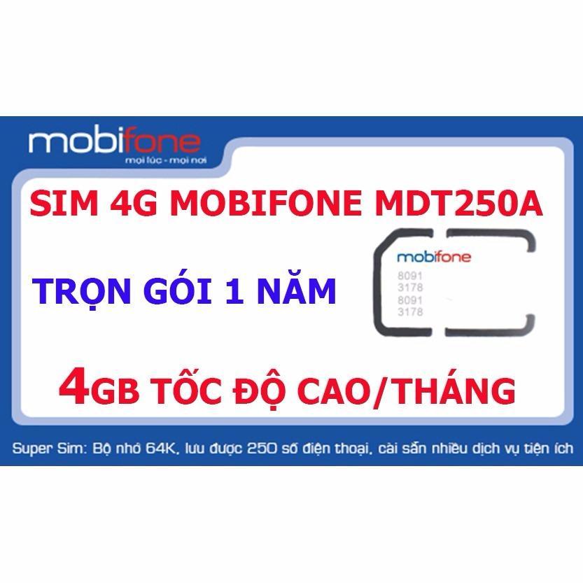 Mua Sieu Hot Sim 4G Mobifone 48Gb Trọn Goi 1 Năm Khong Cần Nạp Tiền Cam Kết Đủ 12 Thang Việt Nam