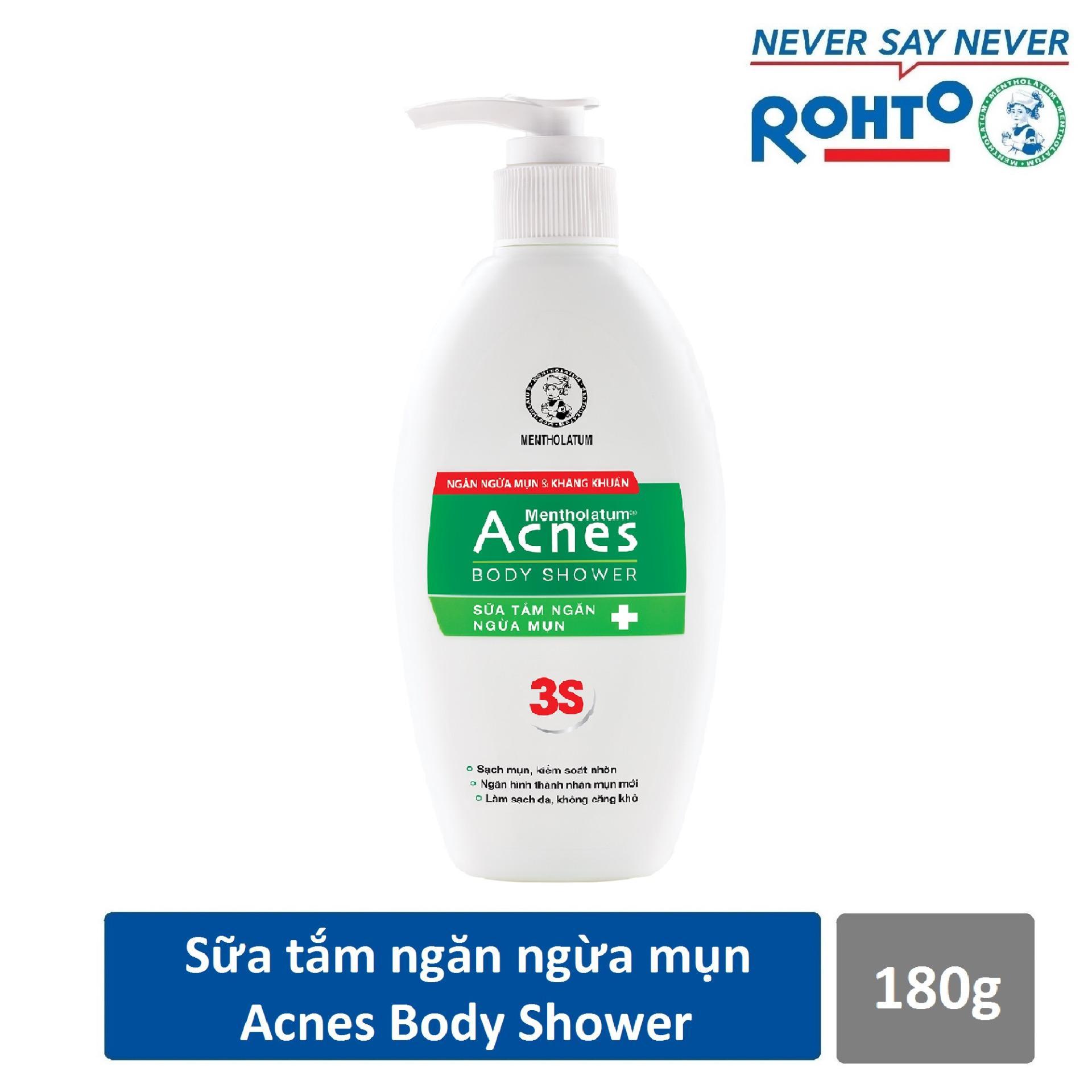 Hình ảnh Sữa tắm ngăn ngừa mụn Acnes Body Shower 180g
