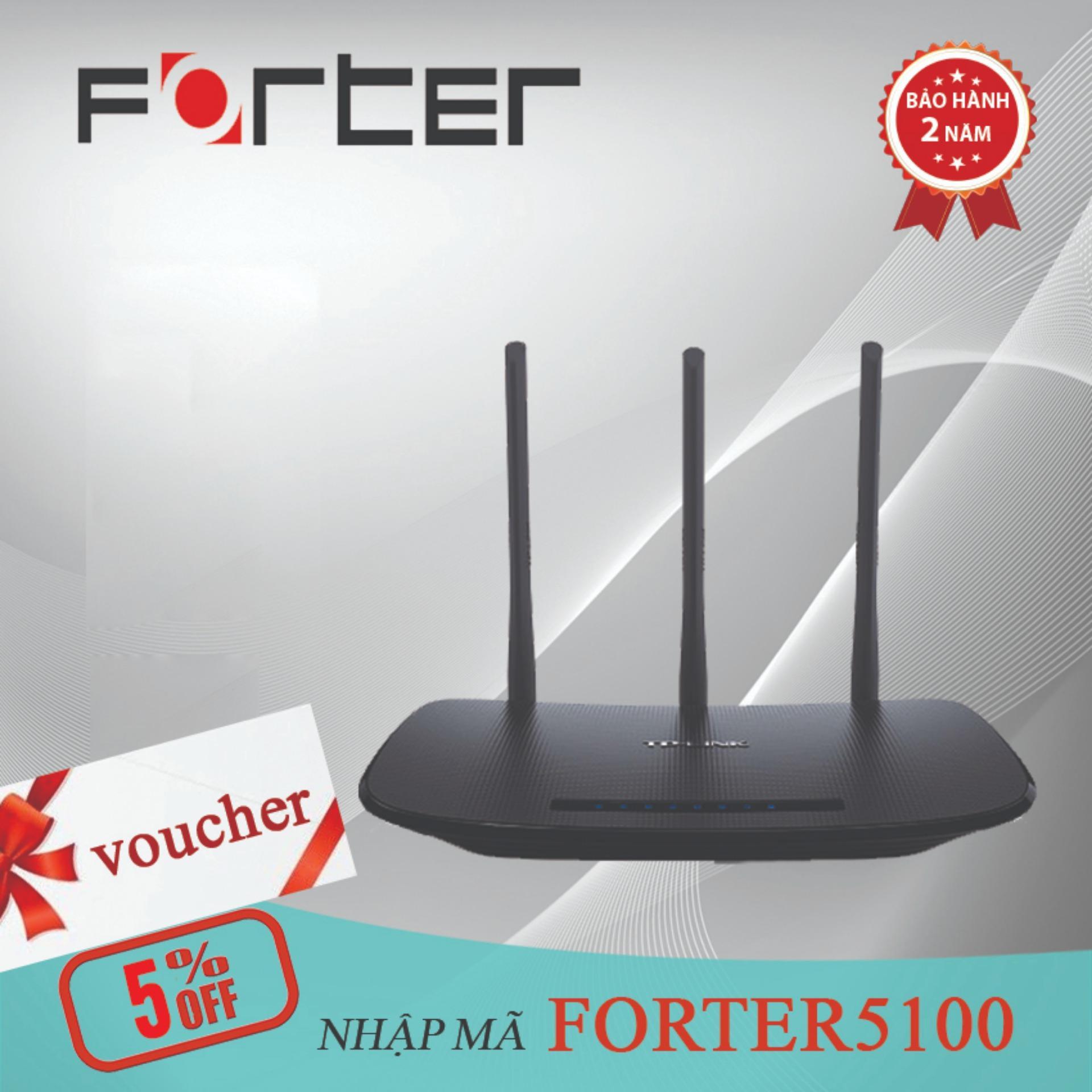 Giá Bán Router Wi Fi Chuẩn N Tốc Độ 450Mbps Tp Link Tl Wr940N Hang Phan Phối Chinh Thức Tp Link