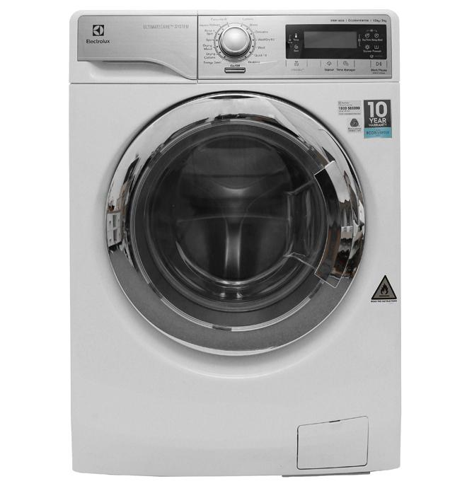 Hình ảnh Máy giặt sấy Electrolux Inverter 10kg EWW14023