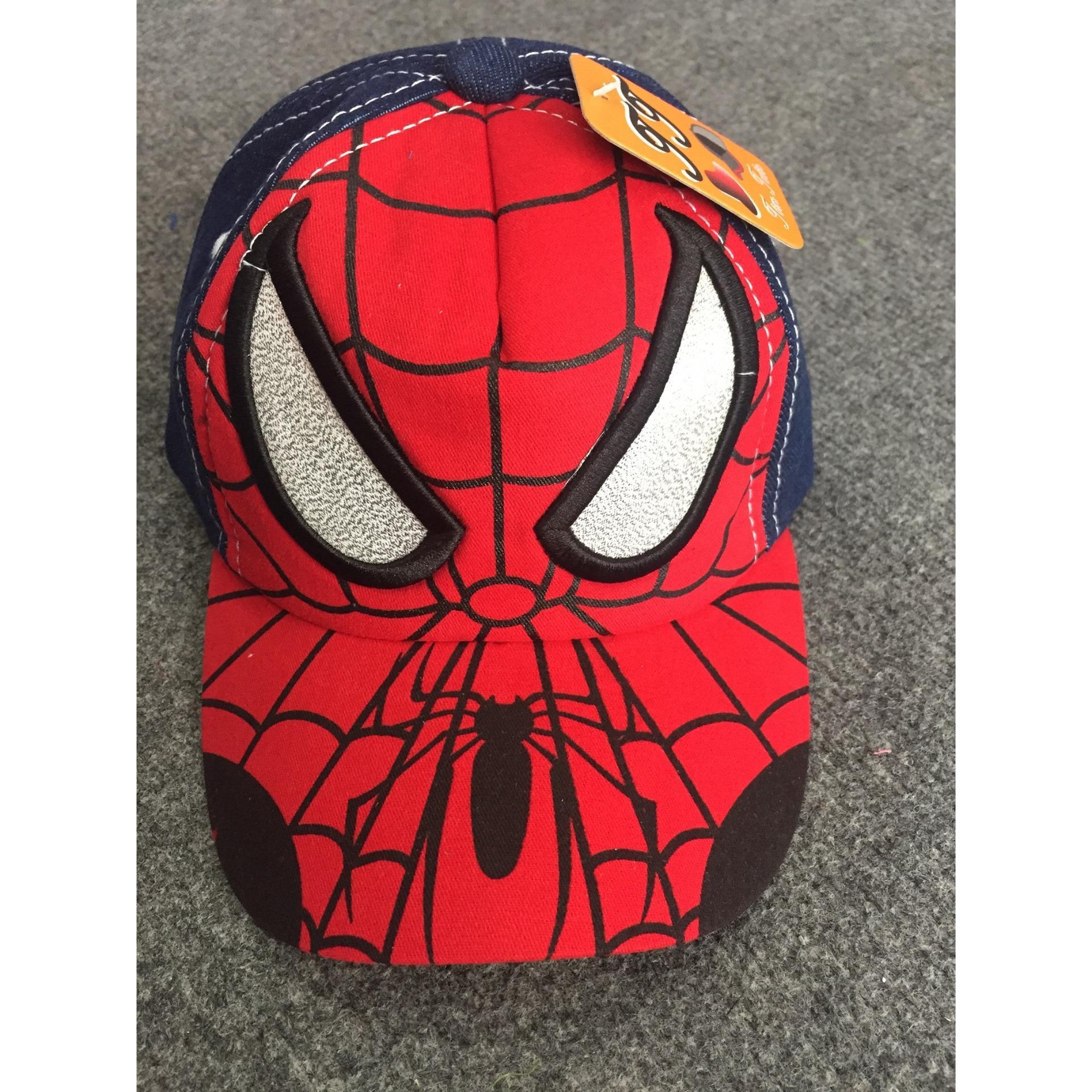 Hình ảnh Mũ người nhện Spiderman vải bò