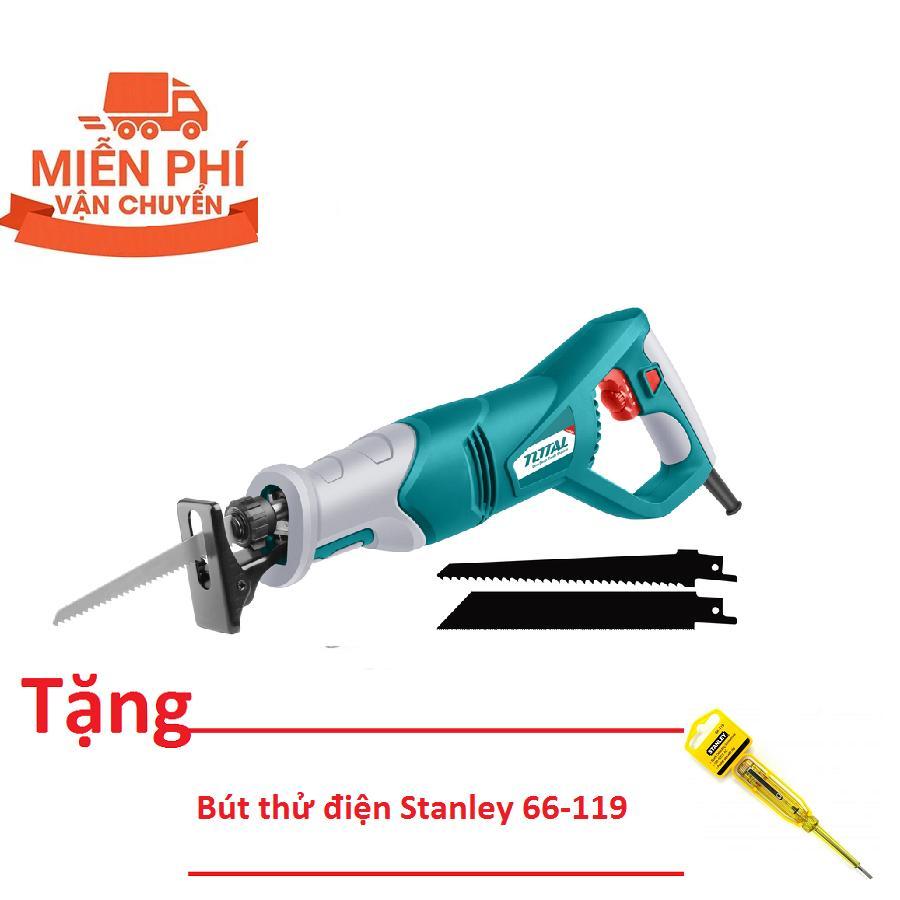 800W MÁY CƯA KIẾM TOTAL TS100802 (Tặng bút thử điện Stanley 66-119)
