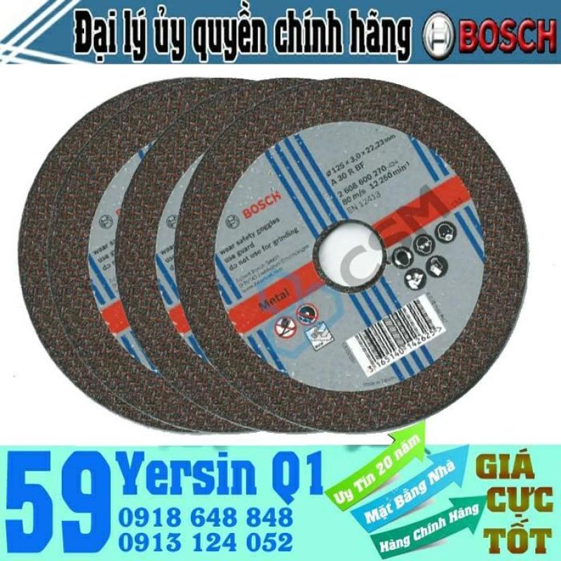Đá cắt sắt Bosch 2608600270 125x3x22.2mm