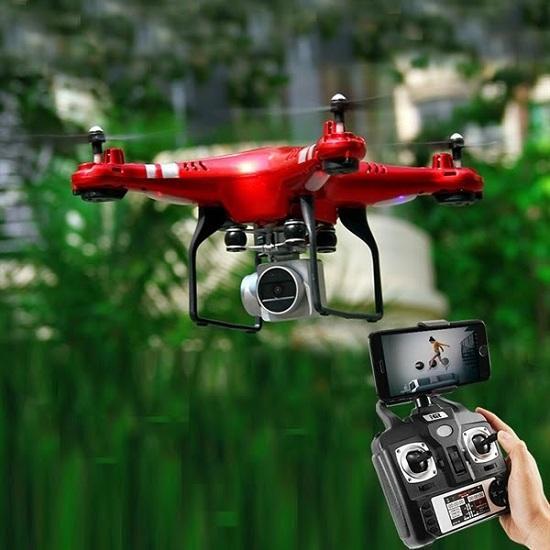 Hình ảnh Flycam H5HD Camera WIFI-FPV HD 1080P Xoay 270 Chống Rung Cực Tốt Phiên Bản Mới Nhất 2018