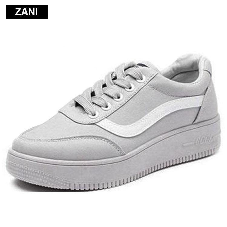 Giá Bán Giay Sneaker Thời Trang Nữ Zani Zn8001G Xam Tốt Nhất