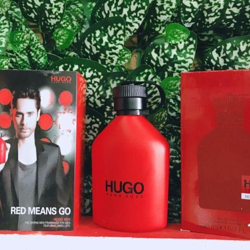 Nước Hoa Nam Huggo Bos Red 150ml
