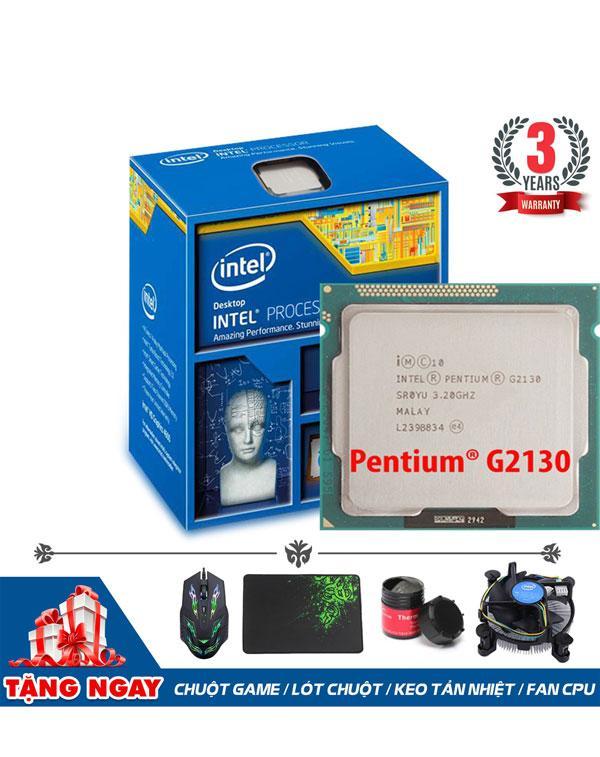 Hình ảnh CPU Intel® Pentium® Processor G2130 (4 lõi, 4 Luồng) + Quà Tặng - Hàng Nhập Khẩu