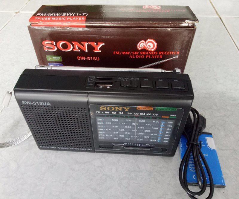 Hình ảnh Đài radio SW 515UA Nhật nghe đài, nghe nhạc cao cấp