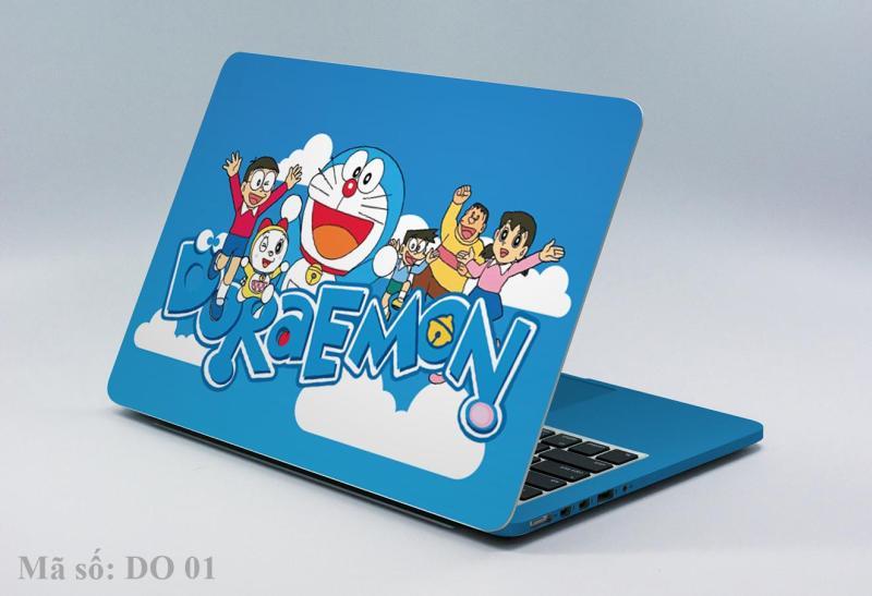 Decal laptop-Ipad-điện thoại DORAEMON