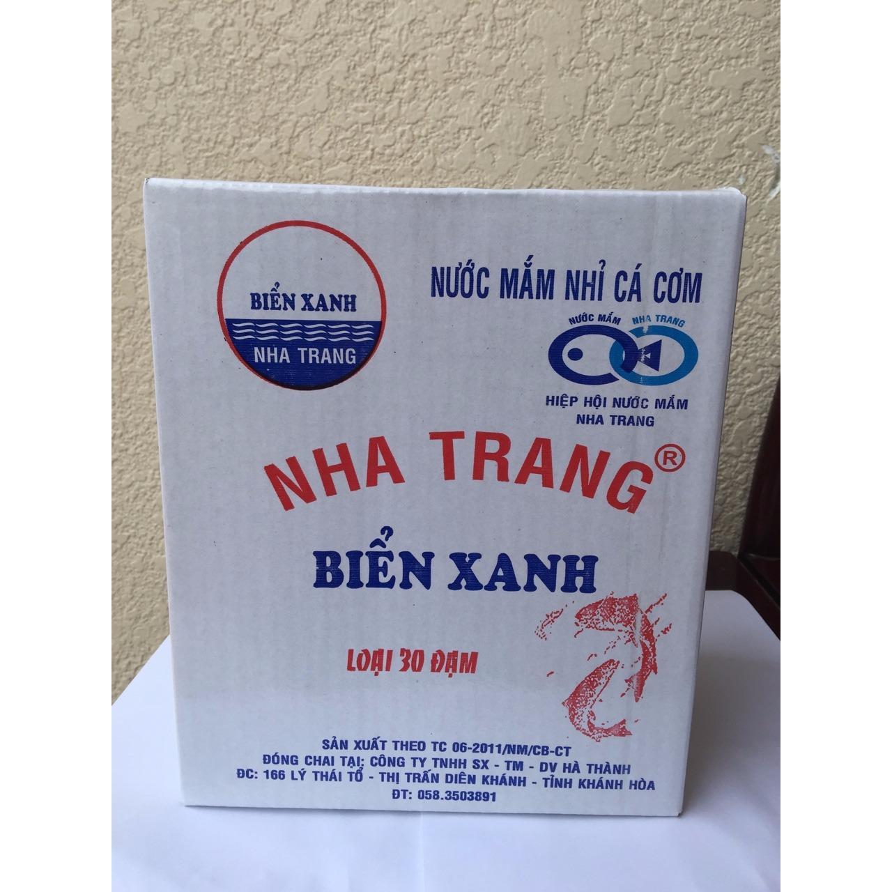 Hình ảnh Nước Mắm Nha Trang loại 30 đạm thùng 3 lít(6chai x 500ml) cần tìm đại lý toàn quốc 0905057662