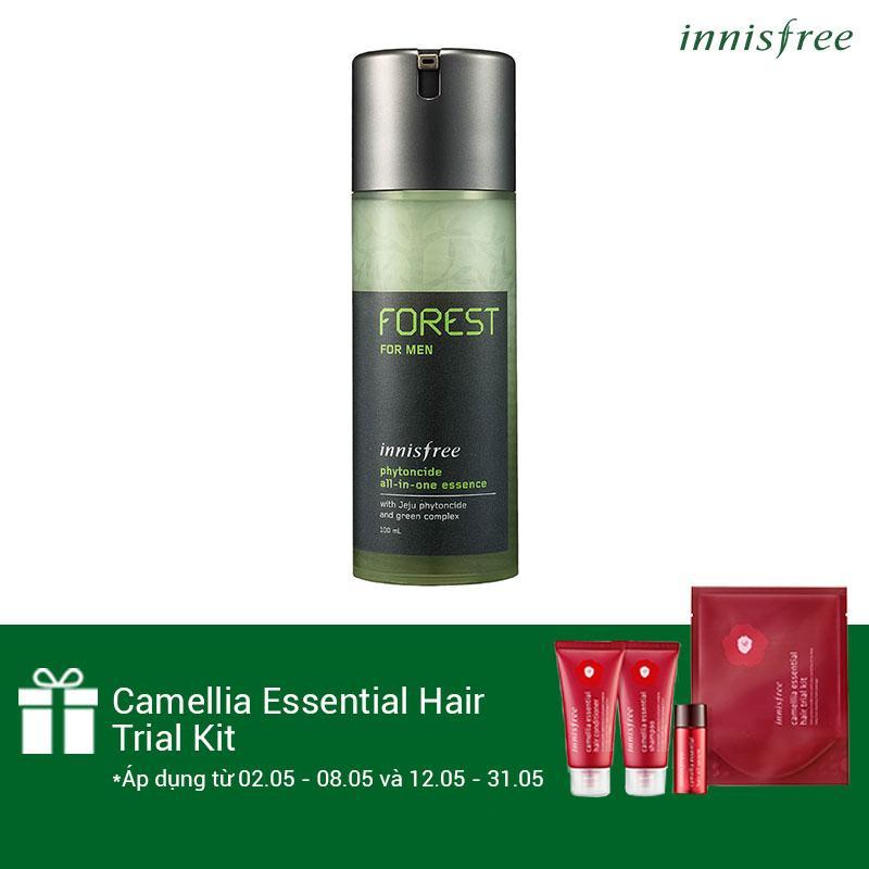 Bán Tinh Chất Dưỡng Đa Chức Năng Cho Nam Innisfree Forest For Men Phytoncide All In One Essence 100Ml Tặng Camellia Essential Hair Trial Kit Số Lượng Co Hạn Rẻ