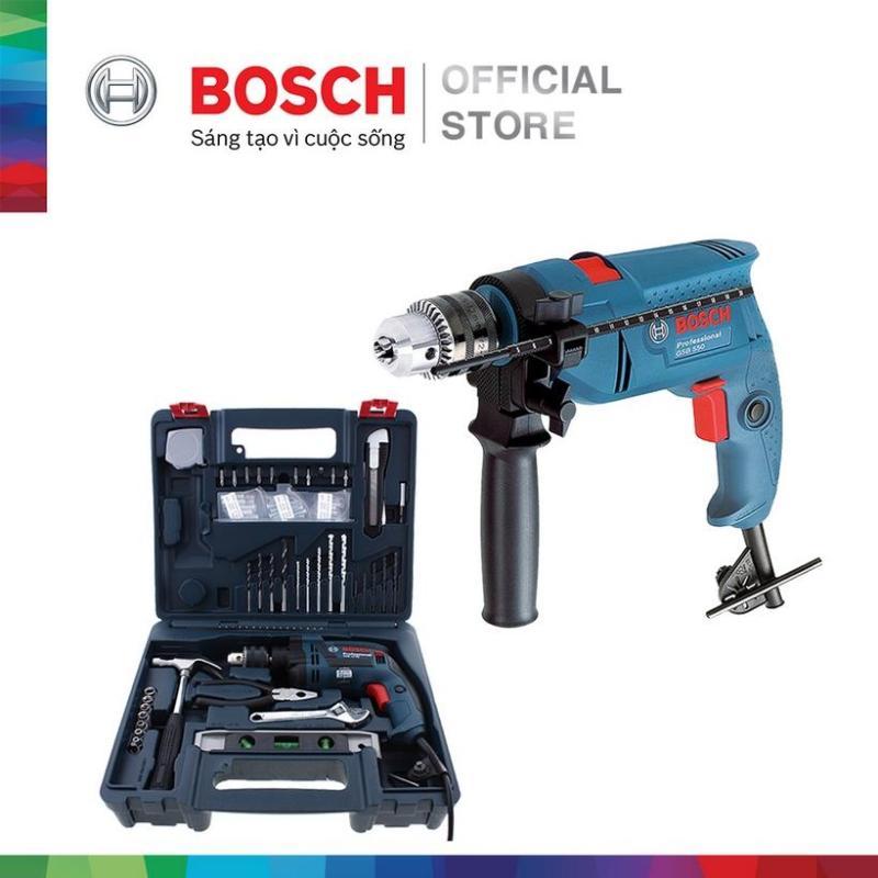Bộ máy khoan động lực Bosch GSB 550 MP kèm phụ kiện 19 chi tiết