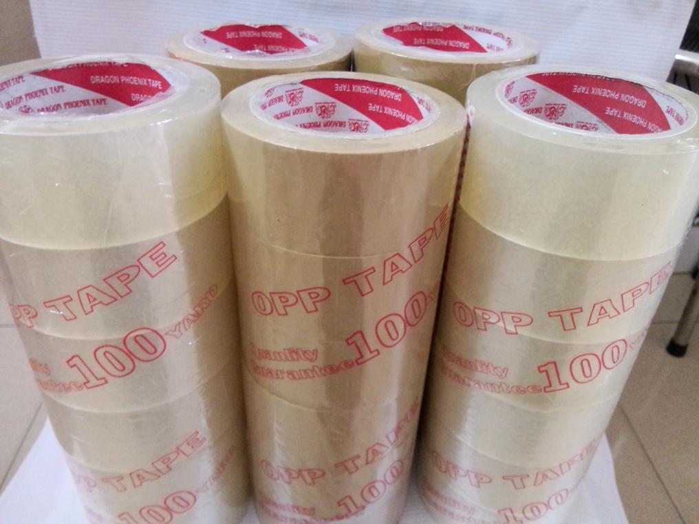 Mua Combo 6 cuộn Băng keo trong 48 mm 100Yard