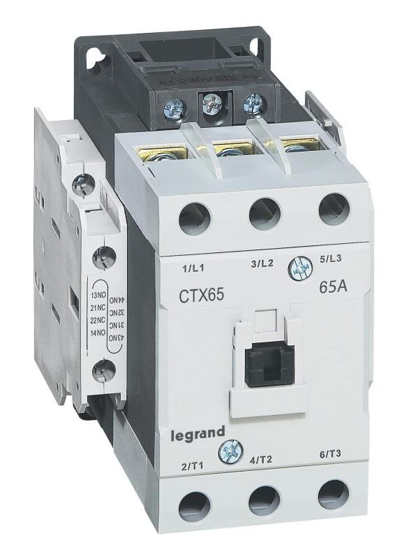 [ 416166 ] CONTACTOR [ LEGRAND - PHÁP ] - CTX 3P 65A 2NO2NC 230V AC