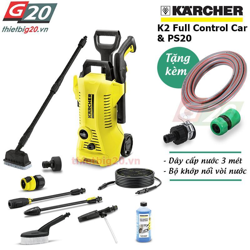 Giá Bán May Xịt Rửa Đa Năng Co Chỉnh Ap Karcher K2 Full Control Car Ps20 Eu Mới
