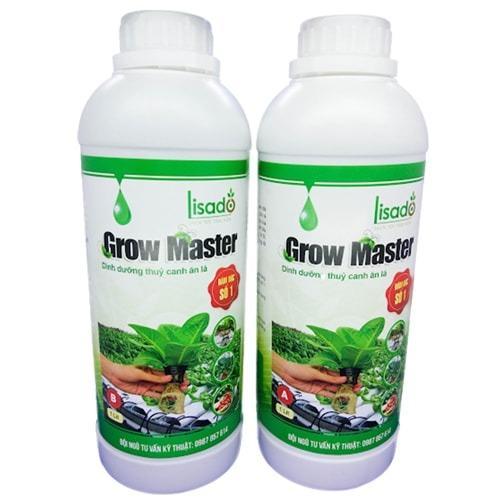 Dung dịch thủy canh Grow Master cho rau ăn lá