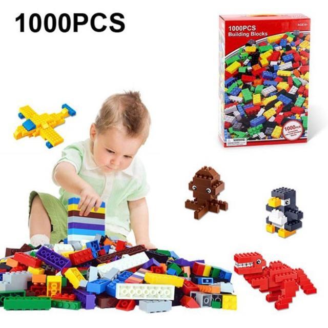 Hình ảnh BỘ XẾP HÌNH LEGO 1000 CHI TIẾT CHO BÉ