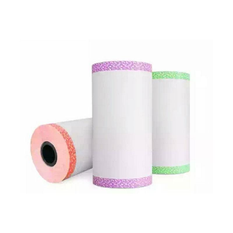 niceEshop 3PCS PAPERANG P1 Printing Paper Thermal Printing Paper Photo Lace Paper