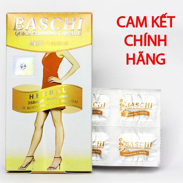 Hình ảnh Viên uống giảm cân Baschi thái lan 30 viên giúp giảm cân an toàn