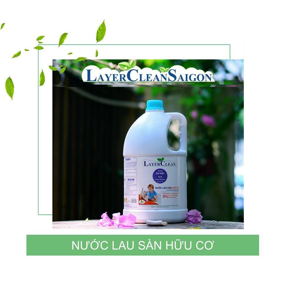 Chiết Khấu Nước Lau San Layer Clean Can 5L Hương Ocean Breeze Có Thương Hiệu