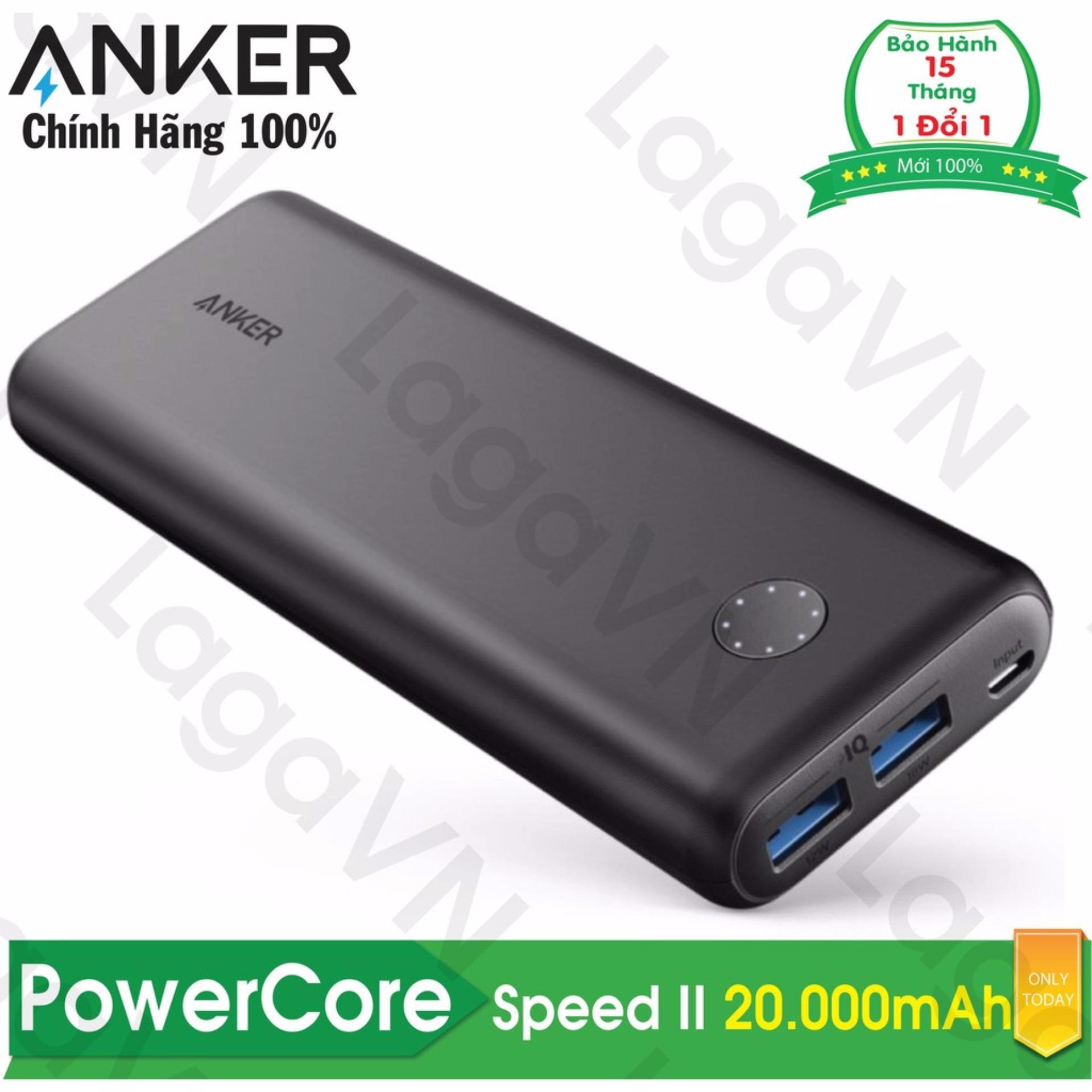 Giá Bán Pin Sạc Dự Phong Anker Powercore Speed Ii 20000Mah A1260 Hang Phan Phối Chinh Thức Hồ Chí Minh