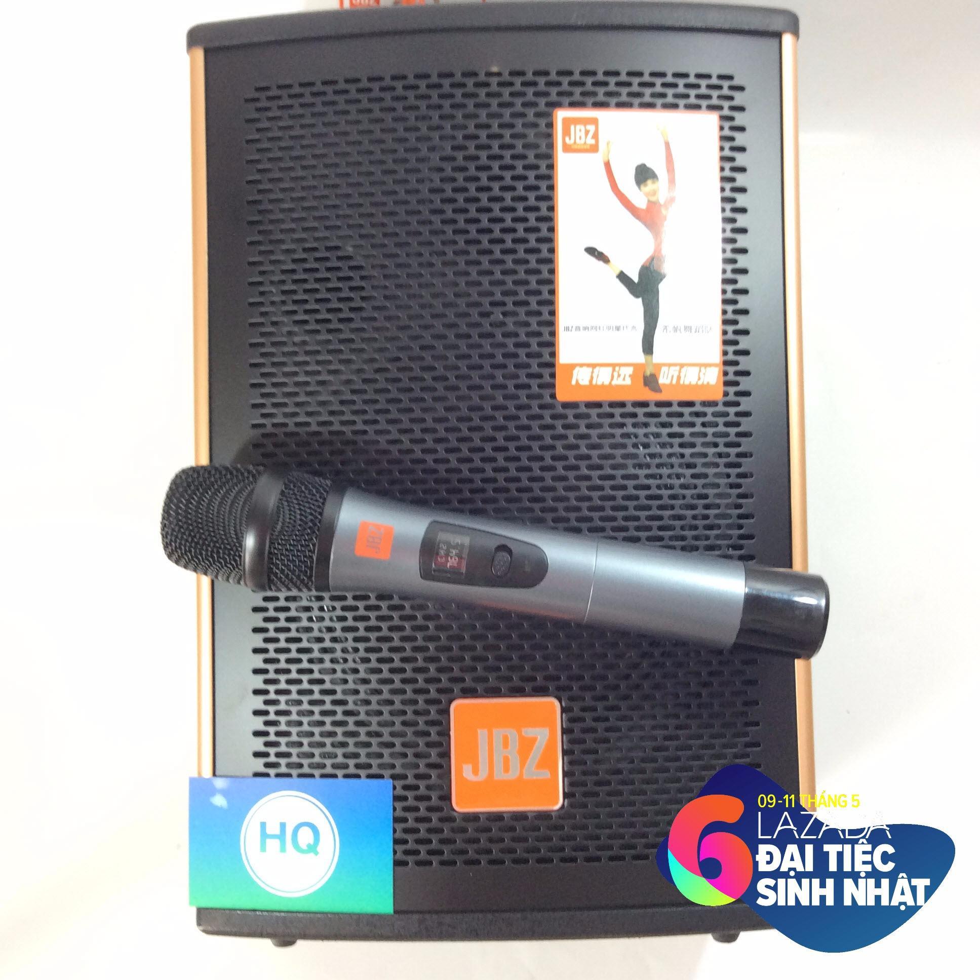 Hình ảnh (Tặng micro không dây cao cấp )Loa karaoke JBZ bass khủng công suất 200w