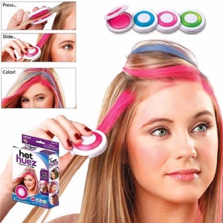 Bộ phấn nhuộm tóc màu Hot Huez 2