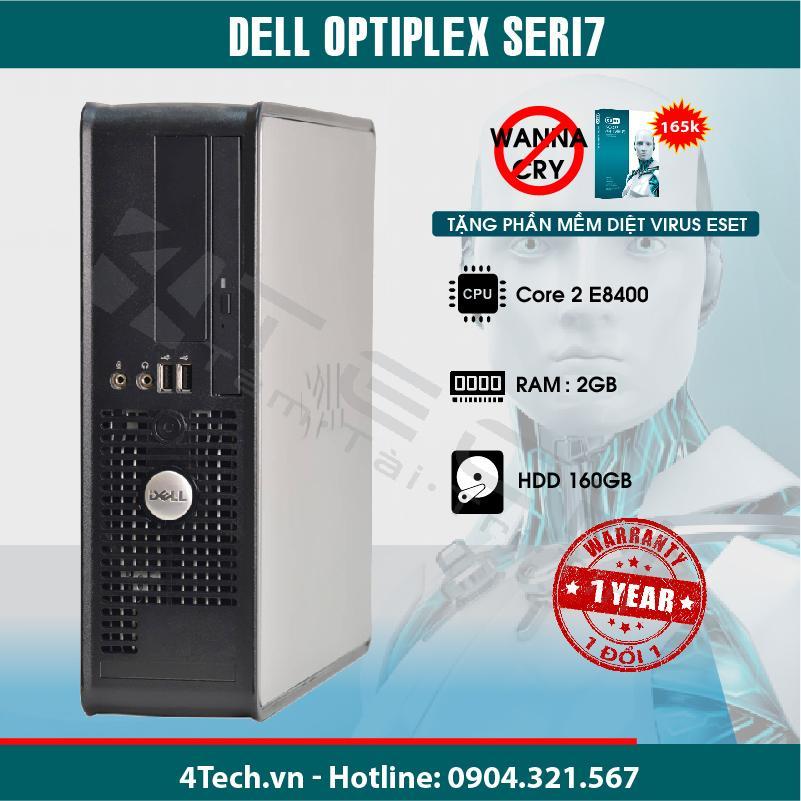 Hình ảnh Máy Tính Để Bàn Dell Optiplex Seri7 Core 2 e8400, Ram 2GB, Hdd 160Gb.